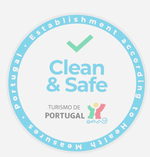 Clean and Safe Turismo de Portugalstamp