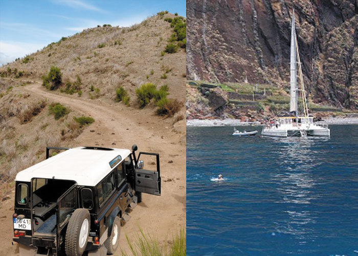 jeep catamaran tour