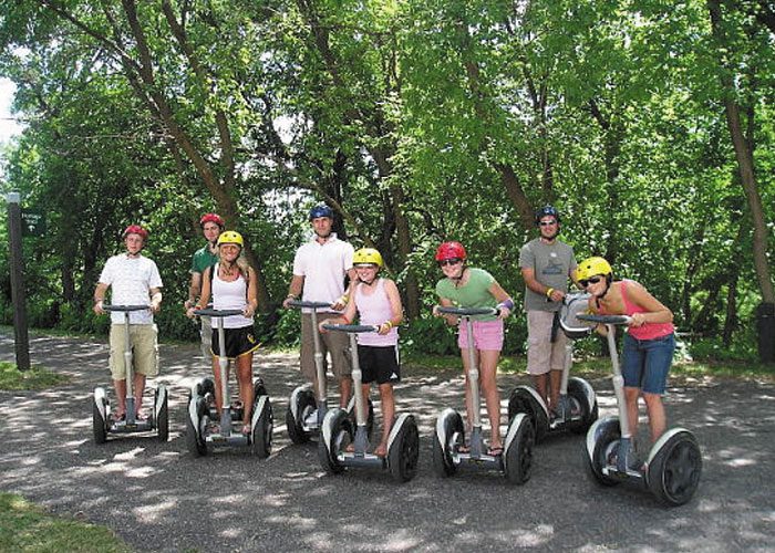 segway riding madeira